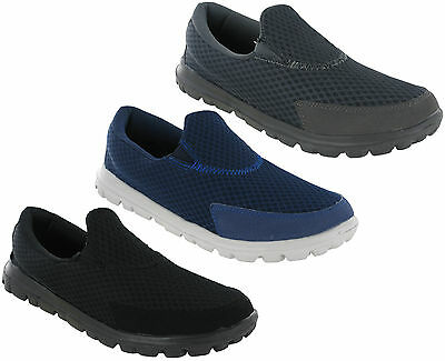 Super Lightweight Go Walking Mesh Leisure Casual Soft Cushioned Mens Shoes