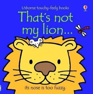 That's Not My Lion by Fiona Watt 9781409509936 (Board book, 2009)