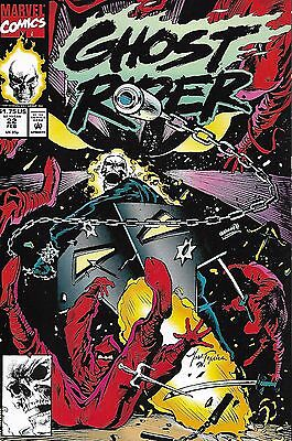 Marvel Ghost Rider comic issue 22