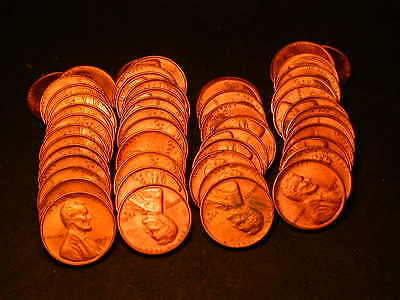 Full 50pc Roll 1947-S  Lincoln Cents  Unc/BU Coins!!!!