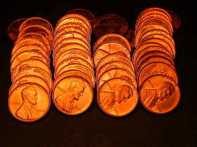 Full 50pc Roll 1945 P  Lincoln Cents  BU Coins!!!!
