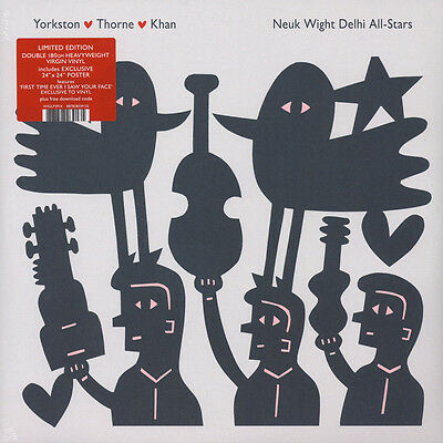 Yorkston / Thorne / Khan - Neuk Wight Delhi A (Vinyl 2LP - 2017 - UK - Original)