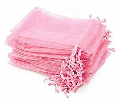 KUPOO Pack of 50PCS 6x8 Inch Organza Drawstring Gift Bag Pouch Wrap for Party/Ga