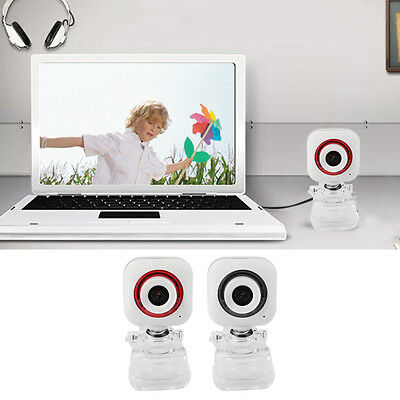 HD Camera Web Cam Clip-on Digital Video Webcamera With Microphone For Laptop RAU