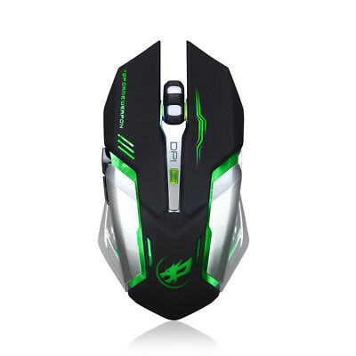 Adjustable 4000DPI Optical LED Wired Gaming Mouse Mice For Laptop PC Pro Gamer