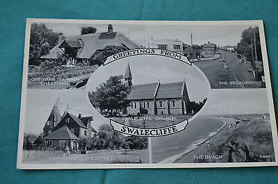 Whitstable - Greetings From Swalecliffe Multiview - Broadway, Beach, Oast etc