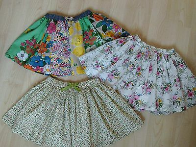 NEXT GIRLS CLOTHING 3 X SUMMER SKIRTS (1 NWT) 18-24 MONTHS  - post next day