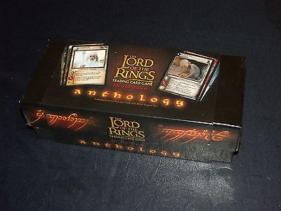LOTR Lord of the Rings tcg sealed The Two Towers Anthology Collector's box