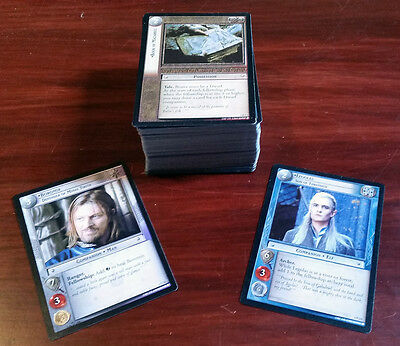 LOTR Lord of the Rings tcg rotel Realms of the Elf-lords complete set incl P