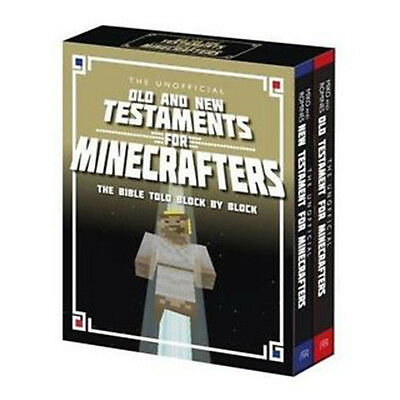 The Unofficial Old and New Testaments for Minecrafters: The Bible Told Block by