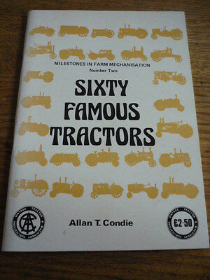 Sixty Famous Tractors, Allan Condie Book