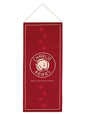 New **COLLECTABLE CHARLIE BEARS BANNER**
