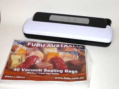12V 240V Vacuum Sealing Machine Sealer Food Storage Cryovac Packing 40 Free Bags