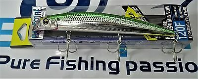 NEW Duel Hardcore Lipless Minnow 120F FLOATING F943 Col: HOKS JAPAN