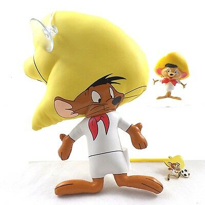 WB speedy Gonzales PVC Pin Stick To Warner Brothers Looney Tunes Bros Lot Topper