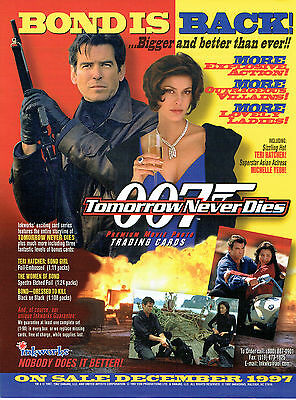 James Bond Tomorrow Never Dies Sell Sheet