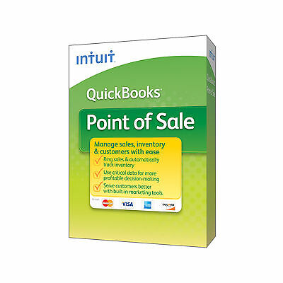 QuickBooks Point of Sale BASIC 12.0 New User Monthly Payments fee waived 1/yr