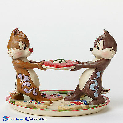 Jim Shore Disney  Chip and Dale Disney Traditions 4046023 Retired