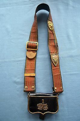Mounted Dress Baldric For 1st Conn. Governor's Horse Guard