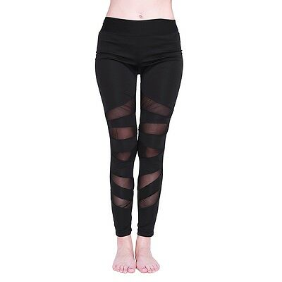 Women Sports Pants Yoga High Waist Fitness Legging Running Gym Stretch Trousers