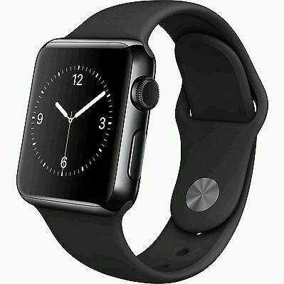 Apple Watch 42mm Space Black Stainless Steel Case (MLC82LL/A) NEW!