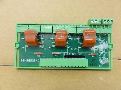 155217 Old-Stock, Triangle 90WB6028AG-REP Rail Mount PCB