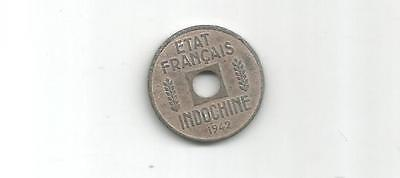 French Indo-China 1942 - 1/4 Cent Coin(Cns 690)