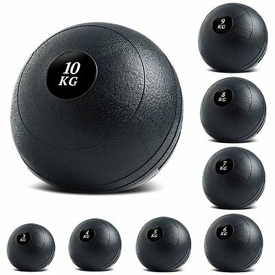 Strength Training Slam Ball Boxing Workout No Bounce Gym Exercise 3kg, to 10kg