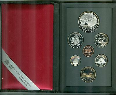 1996,  PROOF SET CANADIAN COINS,  7 COINS, Orignal & Complete