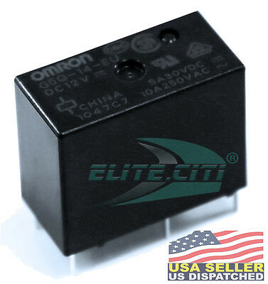 OMRON G5Q-14-EU 12DC General Purpose Relays SPDT 12VDC ClassF Sealed (1-Piece)