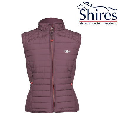 Shires Munich Quilted Waistcoat Free UK Shipping
