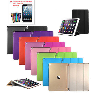Ultra Slim Smart Cover PU Leather Case Stand for iPad Pro Mini iPad 2 /3 /4 Air