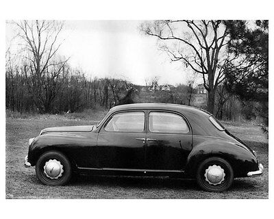 1954 Lancia Aurelia 4 Door Sedan Willys Spy Photo ORIGINAL Factory Photo oua9607