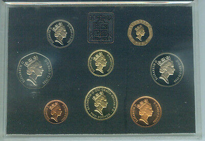 1986 Royal Mint UK Proof 8-Coin Proof Set in Case - Great Britain