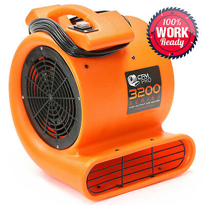 Air Mover Carpet Dryer Blower Floor Drying Industrial Fan - 1/2 hp