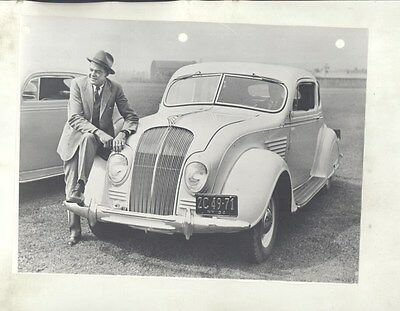 1934 DeSoto Airflow Coupe ORIGINAL Photograph ww8234
