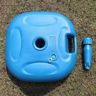 New Parasol Base Outdoor Fishing Beach Umbrella Plastic Stand Water/Sand Filling