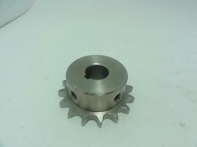 """151603 New-No Box, Caldwell 300620238980_ Stainless Sprocket #40, 16T, 3/4"""" Bore"""