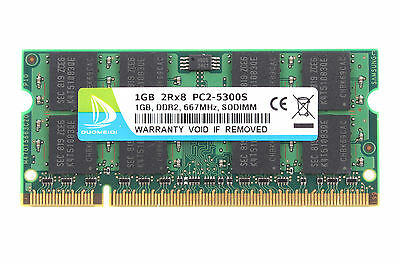 DUOMEIQI 1GB DDR2 2RX8 PC2-5300S 667Mhz 200pin SO-DIMM Laptop Memory RAM CL5