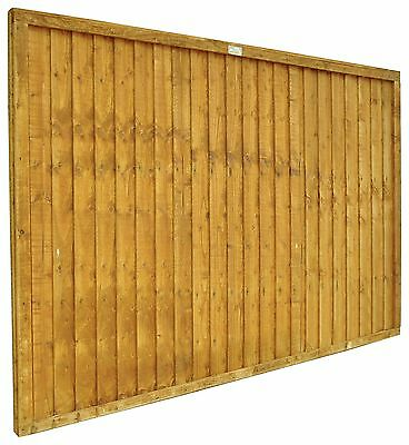 Forest Closeboard Traditional Fence Panel - Choice of Size and Pack Size - Argos