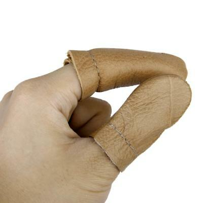 Leather Thumb Finger Protectors Guards Hand Craft Needle Pin Felting Tools