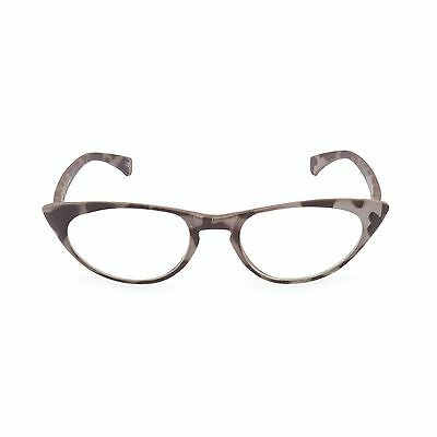 50s 60s Retro CAT EYE Taupe Tortoise' Peggy' as reading glasses,clear or reglaze