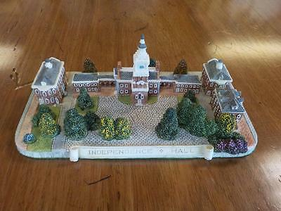 Fraser Creations American Heritage Collection Independence Hall Signed Model