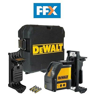 DeWalt DW088K Self Levelling Cross Line Laser Level Kit + Wall Bracket