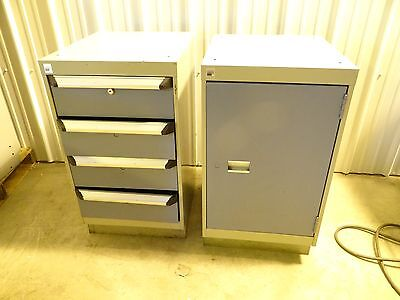 Heavy Duty Rousea 4 Drawer  1 Door Cabinet Tooling Storage Inder Bench Cabinets
