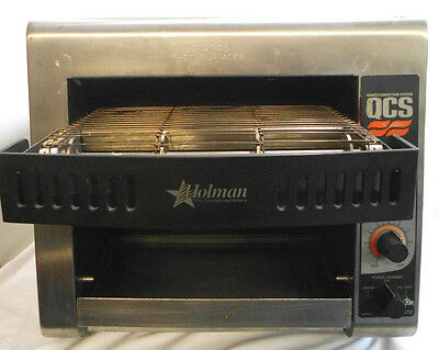 Holman Conveyor Toaster Oven Model QCS1-350-120V Compact Foodservice Convection