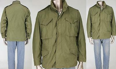 70s Vintage Vietnam War Era M-65 M65 Field Hood Military Army Coat Jacket S