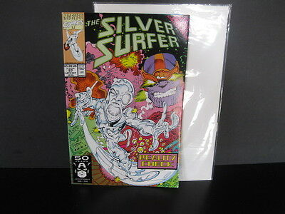 Silver Surfer  #57  (Oct 1991)  Unopened Copy  Bag/Board Included