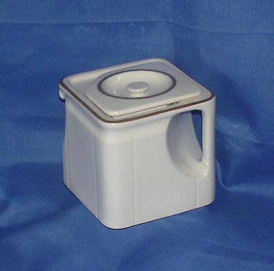 Very Unique Square 3 cup Teapot~ Made in England~ Myott