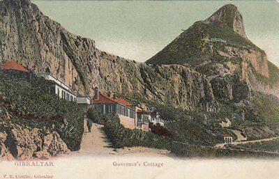 GIBRALTAR : Governor's Cottage -undivided back--CUMBO
